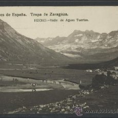 Postales: HECHO - EXPLORADORES TROPA DE ZARAGOZA VALLE DE AGUAS TUERTAS -FOTOGRAFICA - (10.148). Lote 31763734