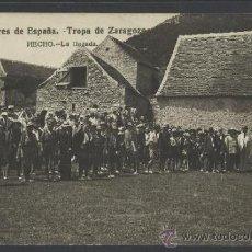 Postales: HECHO - EXPLORADORES TROPA DE ZARAGOZA LA LLEGADA -FOTOGRAFICA - (10.151). Lote 31763747