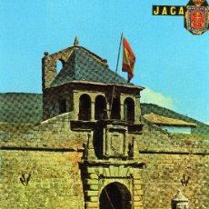 Postales: JACA, HUESCA, ENTRADA A LA CIUDADELA, FOTO PEÑARROYA -JACA-. Lote 31764511
