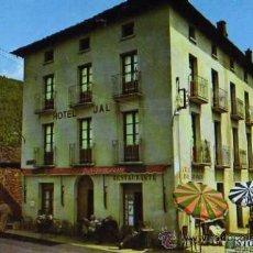 Postales: ALTO ARAGÓN HUESCA LINAS DE BROTO HOSTAL JAL FOTO PEÑARROYA SIN CIRCULAR . Lote 31774587