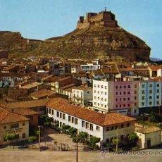 Postales: MONZÓN Nº 16 HUESCA VISTA PARCIAL Y CASTILLO ED. VISTABELLA ESCRITA CIRCULADA SELLO. Lote 31967383