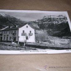 Postales: TORLA FONDA VIU Y MONDARRUEGO AL FONDO EDC. SICILIA 14X9 CM. . Lote 32028694