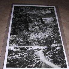 Postales: TORLA (ORDESA) ALTO PIRINEO DE ARAGON ,PUENTE DE LOS NAVARROS - ZERKOWITZ 14X9 CM. . Lote 32040065