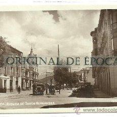 Postales: (PS-28017)POSTAL FOTOGRAFICA DE JACA-AVENIDA DE GARCIA HERNANDEZ. Lote 32065555