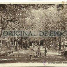 Postales: (PS-28013)POSTAL FOTOGRAFICA DE JACA-PASEO DE GALAN. Lote 32065597