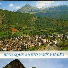 Postales: POSTAL - TIRA-ALBUM-LIBRILLO ACORDEON 20 POSTALES BENASQUE ANETO Y SUS VALLES - HUESCA. Lote 32115968