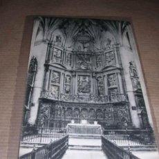 Postales: BARBASTRO - CATEDRAL ALTAR MAYOR CLICHES M. ARRIBAS 14X9 CM. . Lote 32146101