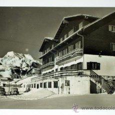 Postales: POSTAL CANFRANC HOTEL CANDANCHÚ ED SICILIA AÑOS 50 CIRCULADA. Lote 32293049