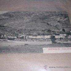 Postales: BENASQUE - VISTA PARCIAL POSTAL CIRCULADA 14X9 CM. . Lote 32321218