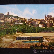 Postales: POSTAL 10. ALCAÑIZ. VISTA GENERAL DESDE EL SALIENTE Y PISCINA MUNICIPAL. ED. SICILIA.. Lote 32606848