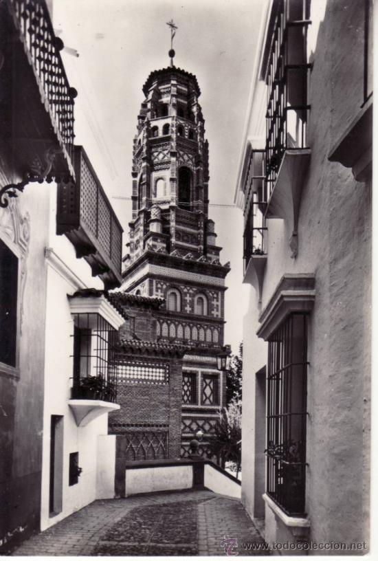 CALLE BULAS TORRE UTEBO ARAGÓN. PUEBLO ESPAÑOL. BARCELONA. CATALUÑA. ESPAÑA. RASTRILLO PORTOBELLO (Postales - España - Aragón Moderna (desde 1.940))