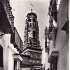 Postales: CALLE BULAS TORRE UTEBO ARAGÓN. PUEBLO ESPAÑOL. BARCELONA. CATALUÑA. ESPAÑA. RASTRILLO PORTOBELLO. Lote 32701461