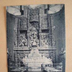 Postales: HUESCA. ALTAR MAYOR DE LA CATEDRAL.. Lote 32806425