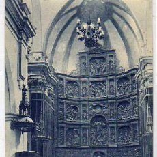 Cartes Postales: TERUEL 11. LA CATEDRAL. RETABLO DEL ALTAR MAYOR. FOTO LLANAS. SIN CIRCULAR.. Lote 32850966