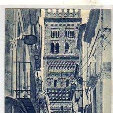 Cartes Postales: TERUEL 8. TORRE DE SAN SALVADOR. FOTO LLANAS. SIN CIRCULAR.. Lote 32850975