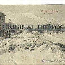 Postales: (PS-28475)POSTAL DE JACA - ESTACION. Lote 32963784