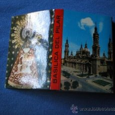Postales: POSTALES ACORDEON DE 12 IMAGENES ZARAGOZA BASILICA PILAR 7,3X5,3 . Lote 33238273