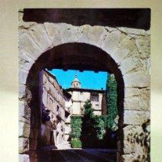 Postales: POSTAL, TARJETA POSTAL, ALBARRACIN, TERUEL, PORTAL DE MOLINA, ED. SICILIA. Lote 33332410