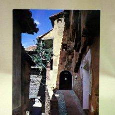 Postales: POSTAL, TARJETA POSTAL, ALBARRACIN, TERUEL, PORTAL DE MOLINA, ED. SICILIA. Lote 33332490