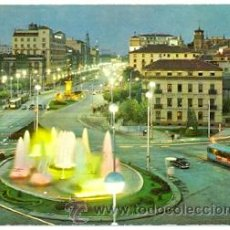 Postales: 7-ESP1401. POSTAL ZARAGOZA. PLAZA PARAISO Y AVENIDA INDEPENDENCIA. Lote 33500055