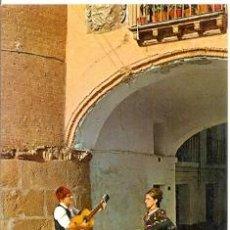 Postais: 7-ESP1412. POSTAL ZARAGOZA. PAREJA TÍPICA DE BATURROS. Lote 33515609
