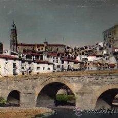 Cartes Postales: ALBALATE DEL ARZOBISPO 1006 PUENTE Y VISTA PARCIAL ED. ARRIBAS SIN CIRCULAR. Lote 33536678