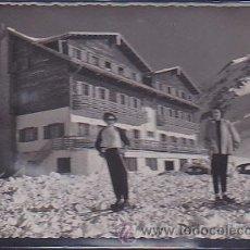 Postales: POSTAL CANFRANC - CANDANCHU HOTEL CANDANCHU ESQUIADORES . Lote 33976867