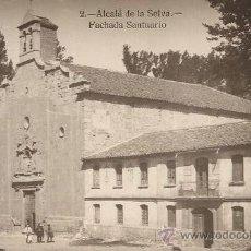 Postales: TERUEL - ALCALÁ DE LA SELVA. FACHADA SANTUARIO.. Lote 34018170