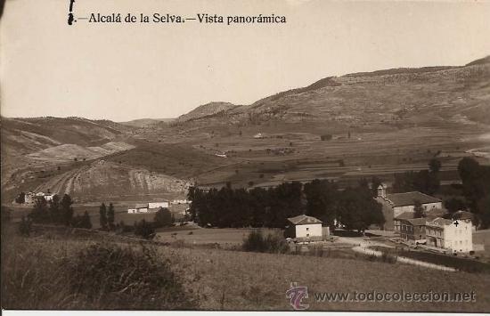 TERUEL - ALCALÁ DE LA SELVA. VISTA PANORÁMICA. (Postales - España - Aragón Moderna (desde 1.940))