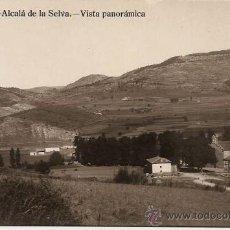 Postales: TERUEL - ALCALÁ DE LA SELVA. VISTA PANORÁMICA.. Lote 34018230