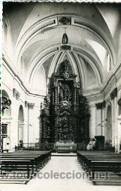 BORJA (ZARAGOZA). COLEGIO DE SANTA MARIA. ALTAR MAYOR.- EDIC. DARVI Nº 8.- FOTOGRÁFICA. (Postales - España - Aragón Moderna (desde 1.940))