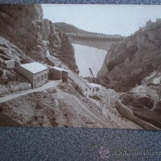 Postales: POSTAL FOTOGRÁFICA VALDERROBRES TERUEL RESCLOSA DEL PANTANO AÑO 1930. Lote 34117019