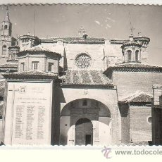Postales: BARBASTRO (HUESCA).- CATEDRAL. FACHADA `PRINCIPAL. Lote 34140832