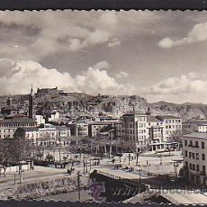 Postales: POSTAL CALATAYUD VISTA PARCIAL AL FONDO EL CASTILLO. Lote 34182733
