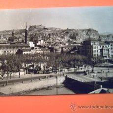 Postales: CALATAYUD -4- VISTA PARCIAL AL FONDO EL CASTILLO. Lote 34272394