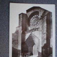 Postales: POSTAL VALDERROBRES TERUEL IGLESIA PARROQUIAL. Lote 34332807