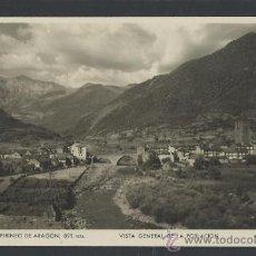 Postales: BROTO -VISTA GENERAL - FOT. ZERKOWITZ - (11.776). Lote 34635779