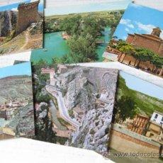 Postales: 6 POSTALES DE ALHAMA DE ARAGON EN ESTADO IMPECABLE. Lote 35061659