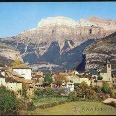 Postales: TORLA - PIRINEO ARAGONES).- VISTA PARCIAL. AL FONDO MONDARRUEGO. Lote 35189351