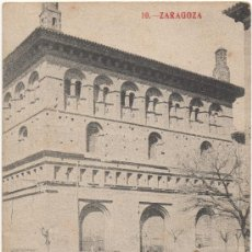Postales: ZARAGOZA.- EXTERIOR DE LA LONJA.. Lote 35209423
