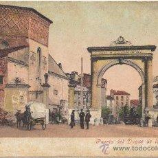 Postales: ZARAGOZA.- PUERTA DEL DUQUE DE LA VICTORIA.- EDICIÓN CECILIO GASCA, ZGZ. IMP. PURGER & CO., MÜNCHEN.. Lote 35301452