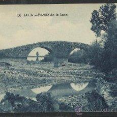 Postales: JACA - 50 - PUENTE DE LA LANA -EDICION F.H. -(12.834). Lote 35428782