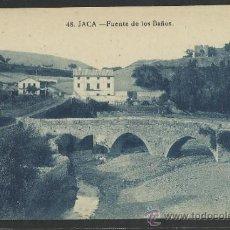 Postales: JACA - 48 - FUENTE DE LOS BAÑOS -EDICION F.H. -(12.841). Lote 35428861