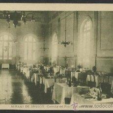 Postales: ALHAMA DE ARAGON - COMEDOR DEL HOTEL TERMAS PALLARES -ED. G. MAÑAS - (12.866). Lote 35429271