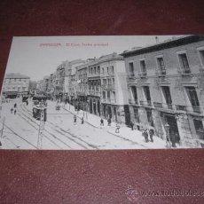 Postales: ZARAGOZA - EL COSO . TEATRO PRINCIPAL - 14X9 CM. . Lote 35641653