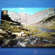 Postales: POSTAL HUESCA PIRINEO ORDESA CIRCO DE SOASO MONTE PERDIDO SUN DE RAMON NO CIRCULADA. Lote 35654666
