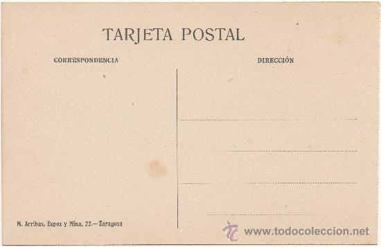 Postales: ZARAGOZA.- PUERTA DEL DUQUE É IGLESIA DE SAN MIGUEL. - Foto 2 - 35708142