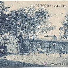Postales: ZARAGOZA.- CASTILLO DE LA ALJAFERÍA.. Lote 35709079