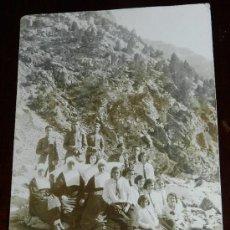 Postales: ANTIGUA FOTO POSTAL DE PANTICOSA, HUESCA, AÑO 1931, COLONIA DE GUARDIA CIVIL, NO CIRCULADA.. Lote 35722224