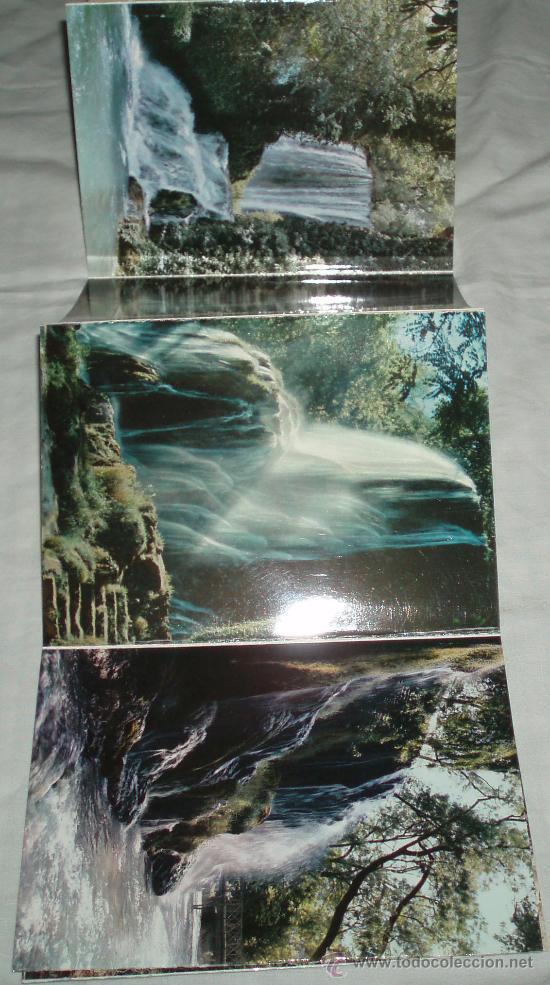 Postales: desplegable con 10 postales Monasterio de Piedra (Zaragoza) - Foto 2 - 35880599